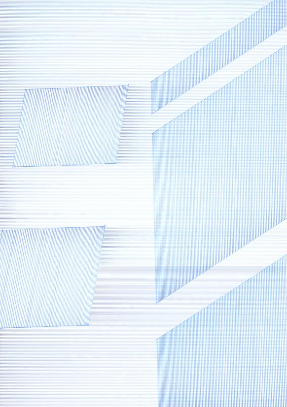 11:35 2010Künstlertusche auf Papier 70 cm x 100 cm