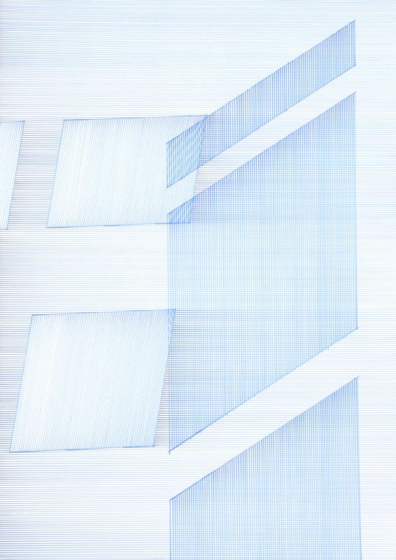 11:23 2010Künstlertusche auf Papier 70 cm x 100 cm